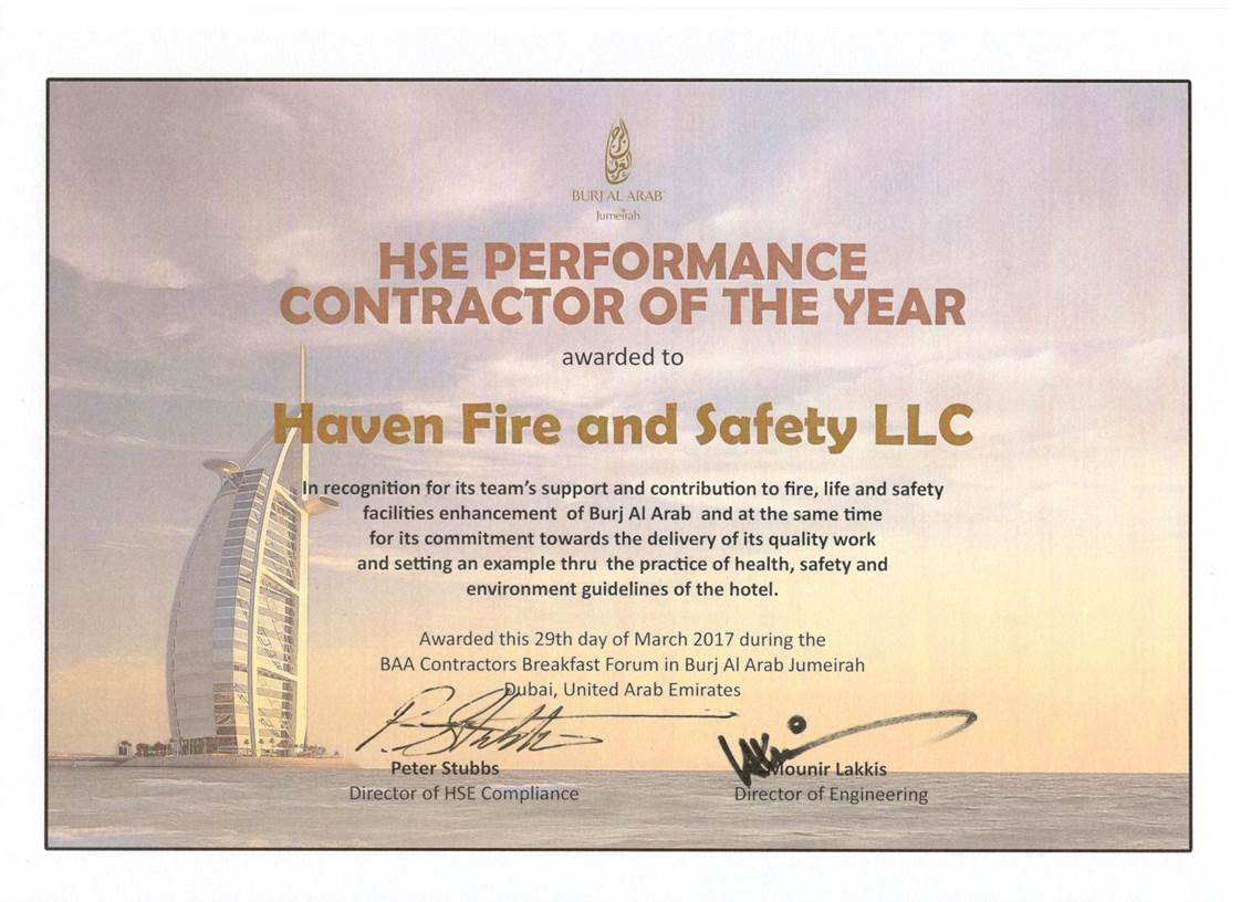 Haven Fire & Safety L.L.C.