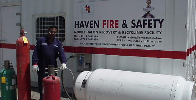 Halon Services | Haven Fire & Safety L L C